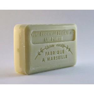 """Savonnette """"Tandem Marseillais"""" Eucalyptus/Lait d'ânesse 125 g"""