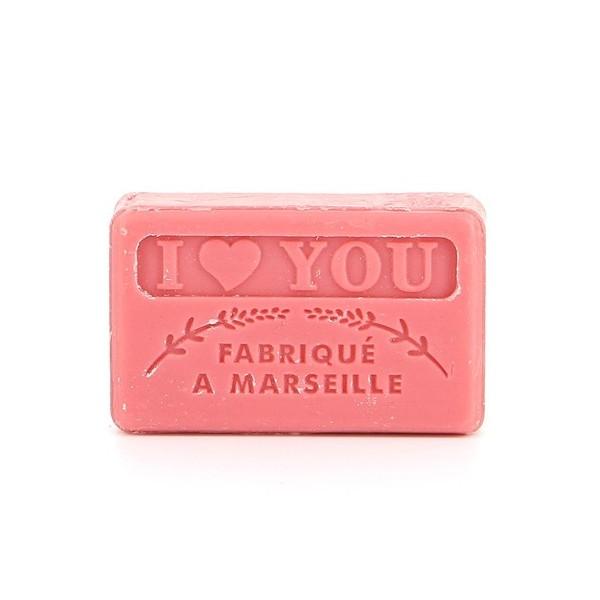 La petite Savonnette Marseillaise I Love You 60 g