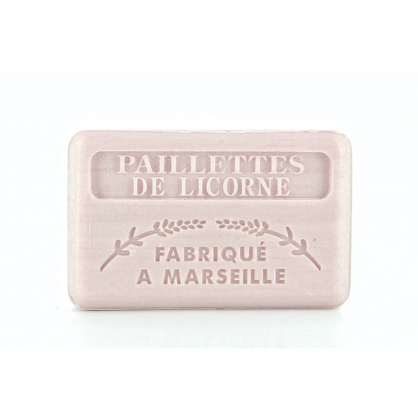 Paillettes de Licorne par Soap Connection : La Savonnette Marseillaise 125g