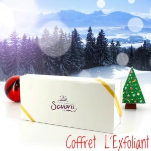 Coffret de Noël L'Exfoliant