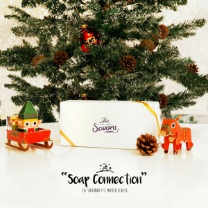 Coffret de Noël 8 Savonnettes Soap Connection