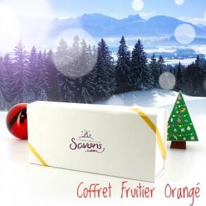 Coffret de Noël Fruitie orange